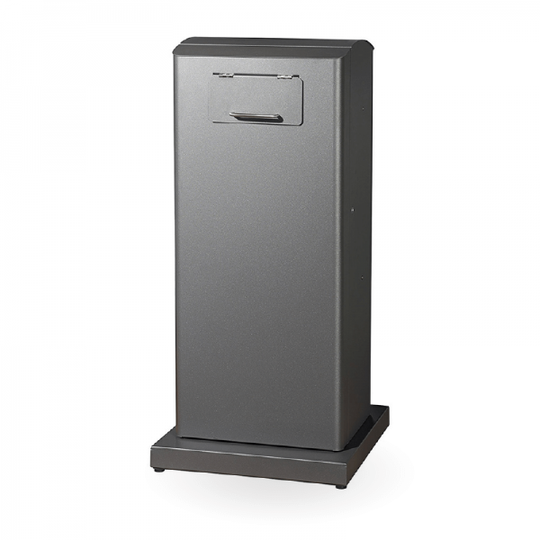 longopac-urban-sidewalk-waste-bin-cabinet-easi-recycling-nz