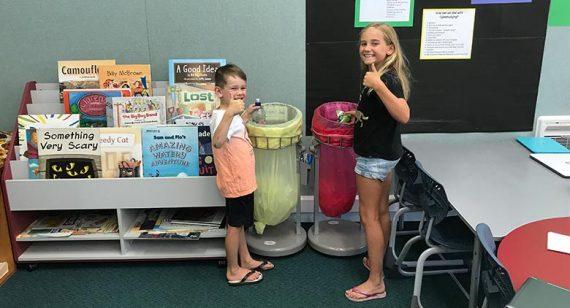Smarter Waste Management in Schools